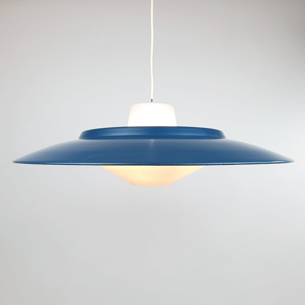 Large Mid Century Hanging pendant by Louis Kalff for Philips, 1950s