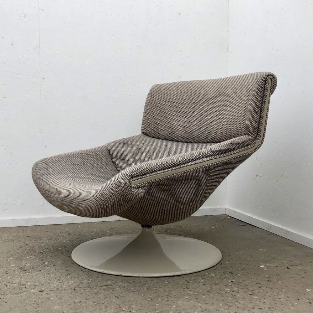 Model F522 Lounge chair by Geoffrey Harcourt for Artifort, 1970s