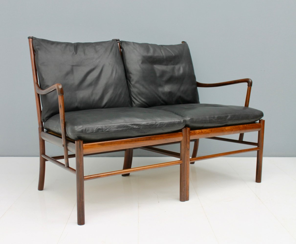 Ole Wanscher P149 colonial settee by Poul Jeppesen
