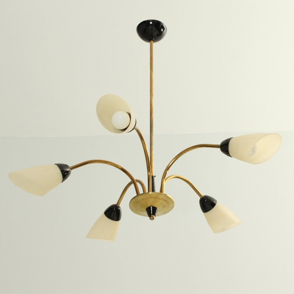 Five Arms Chandelier, 1950