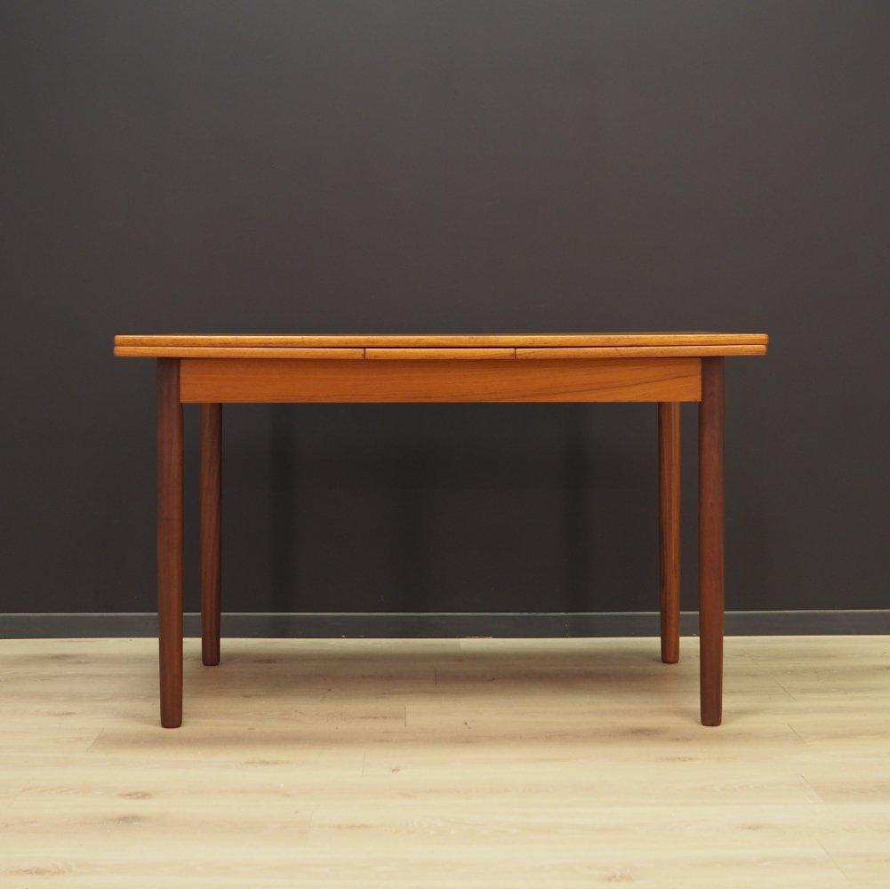 Teak dining table, 1970s