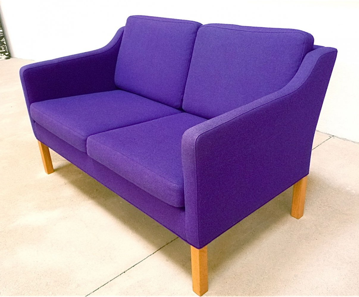 Danish Two-Seater Sofa by Børge Mogensen for Fredericia Stolefabrik, 1960s