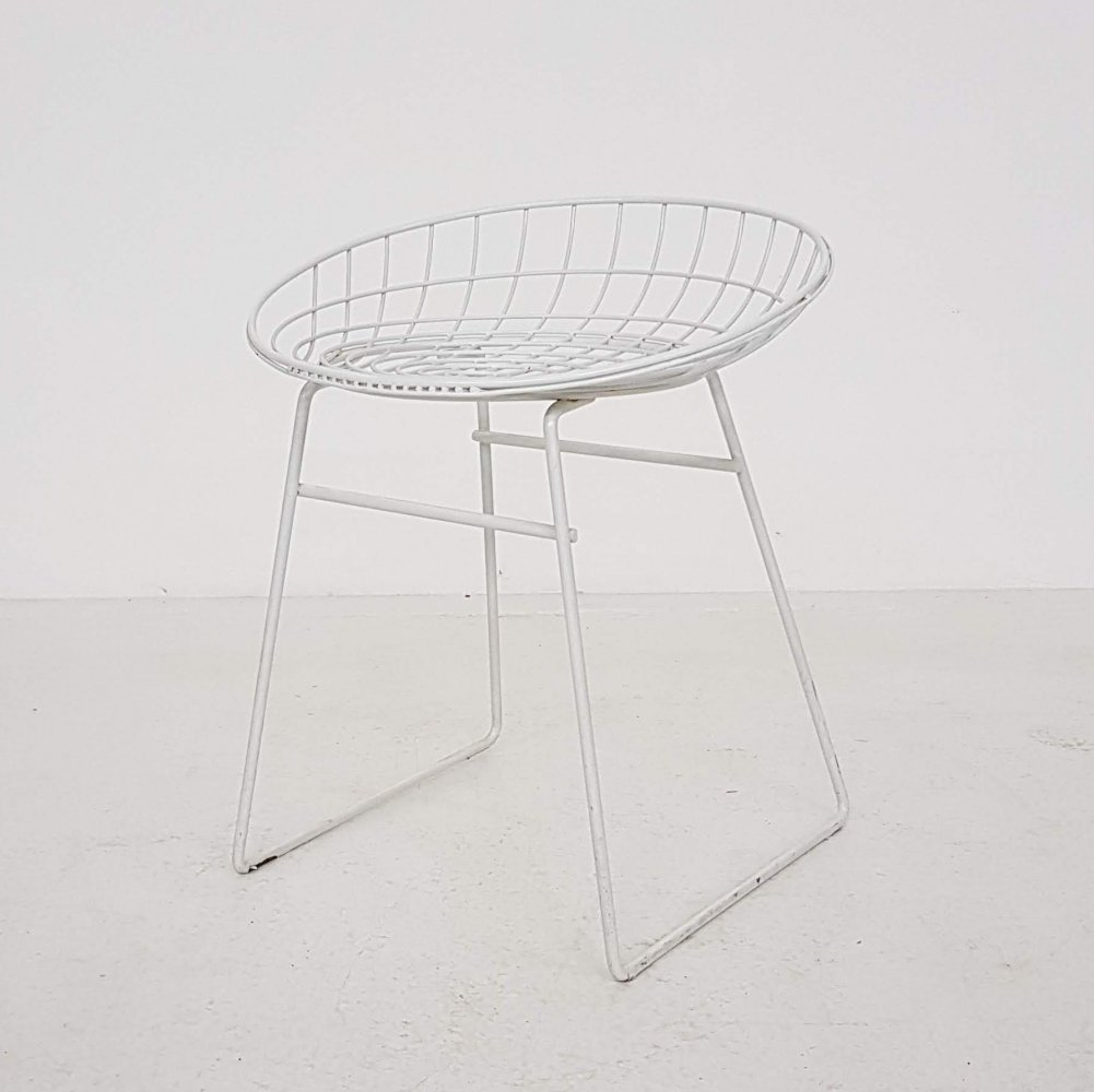KM05 stool by Cees Braakman & A. Dekker for Pastoe, 1960s