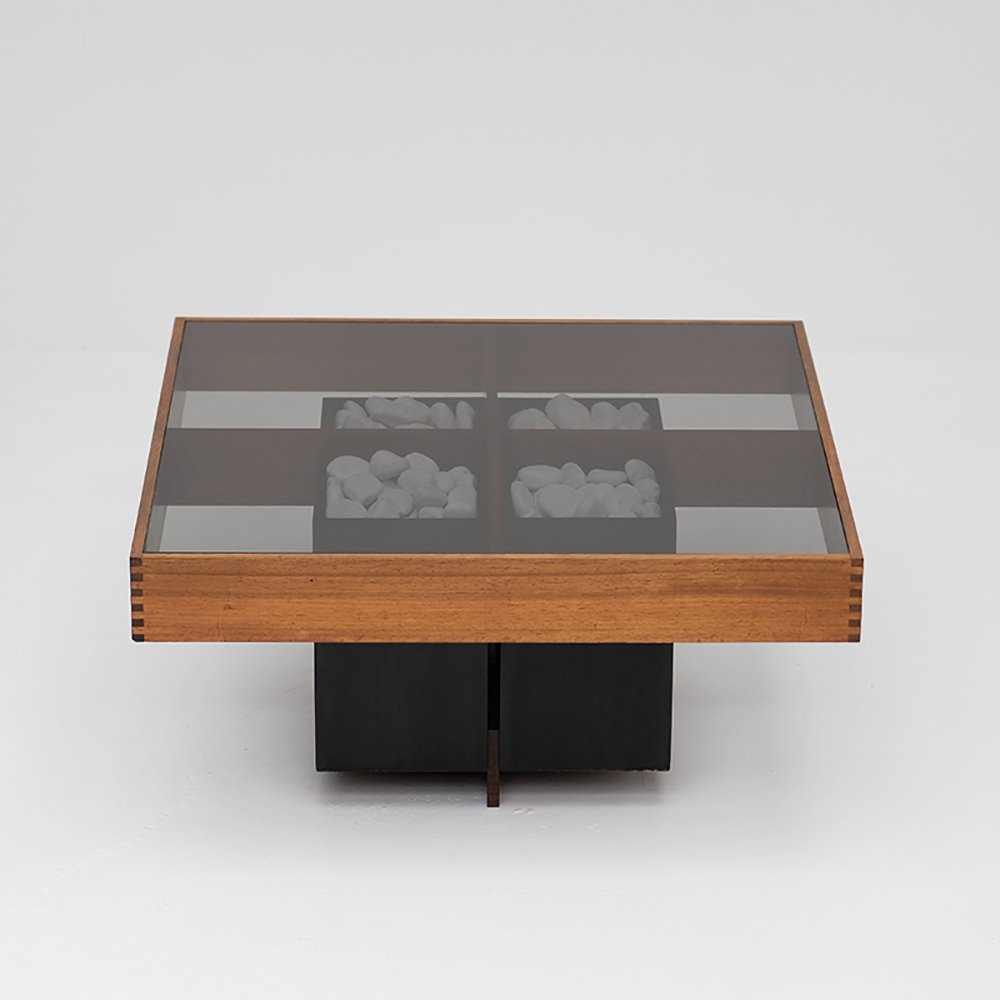 Exclusive coffee table by Pieter De Bruyne, 1965