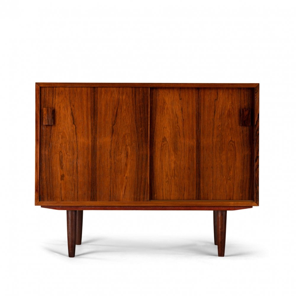 Small Danish rosewood chest by DR Møbler, 1960s