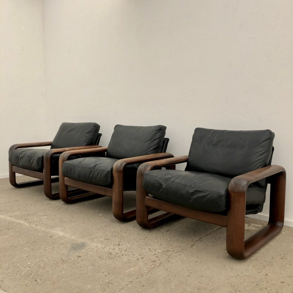 Vintage Rosenthal armchairs by Burkhard Vogtherr, 1970s
