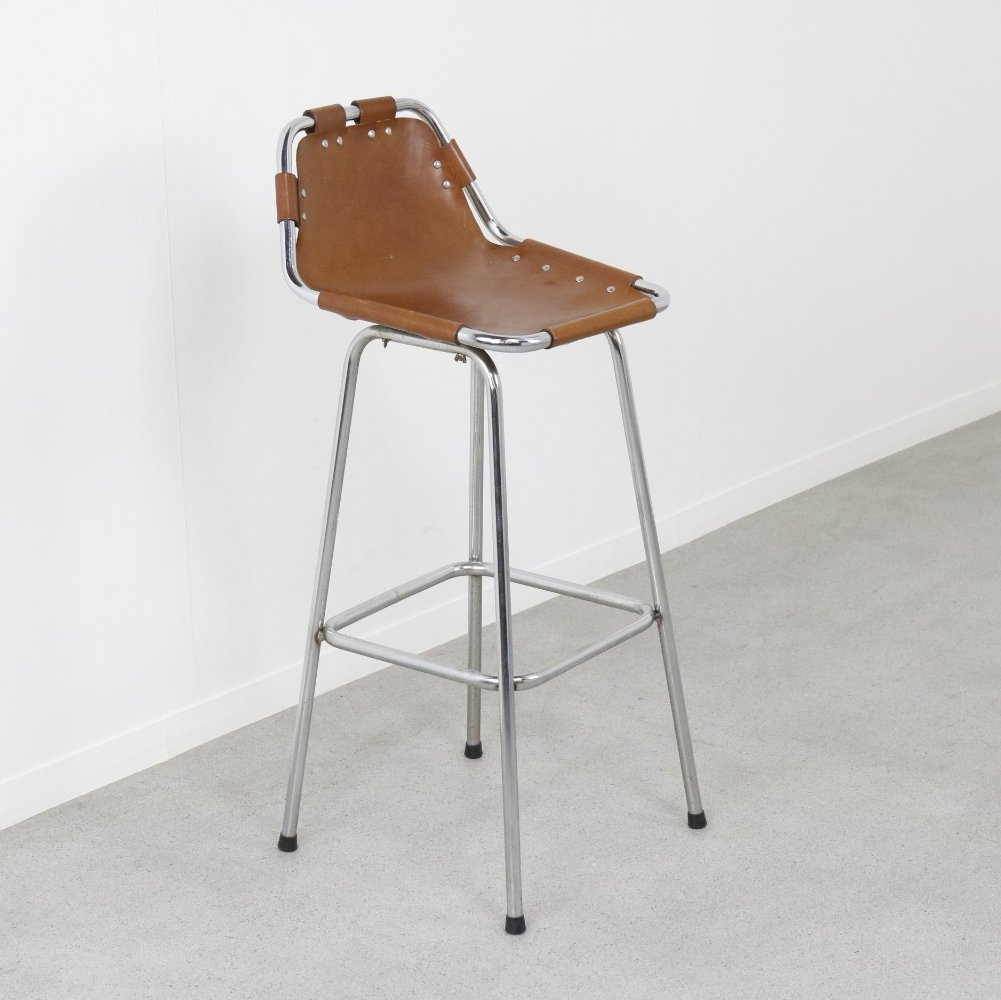 Bar stool by Charlotte Perriand for