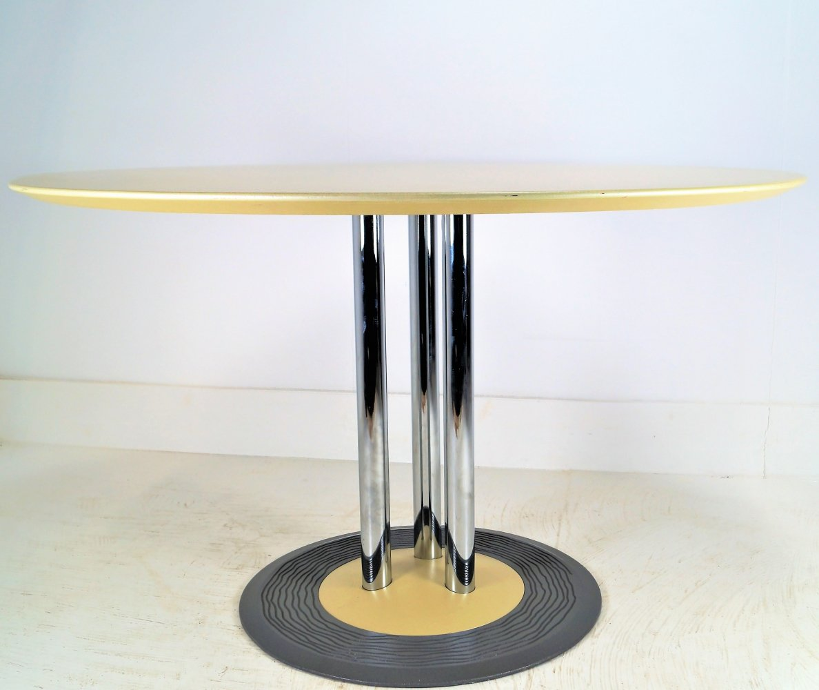 Trias dining table by Hugo de Ruiter for Leolux, 1990s