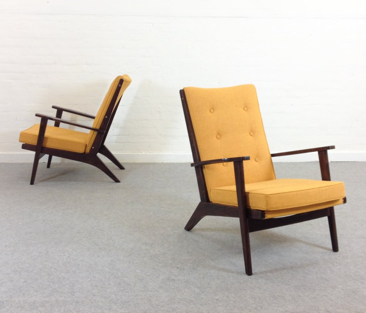 Set of 2 Mid-Century Easy Chairs by Parker Knoll, 1950s