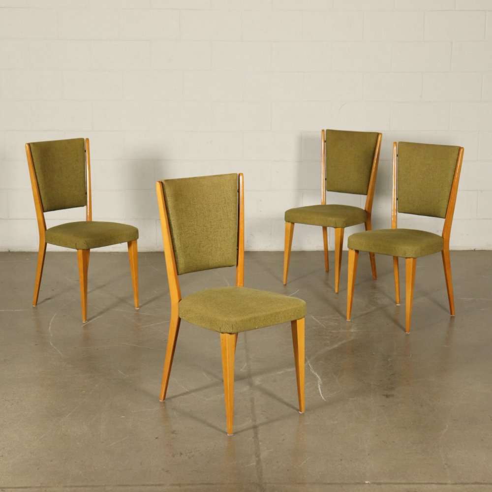 Four 1950s Vintage Chairs