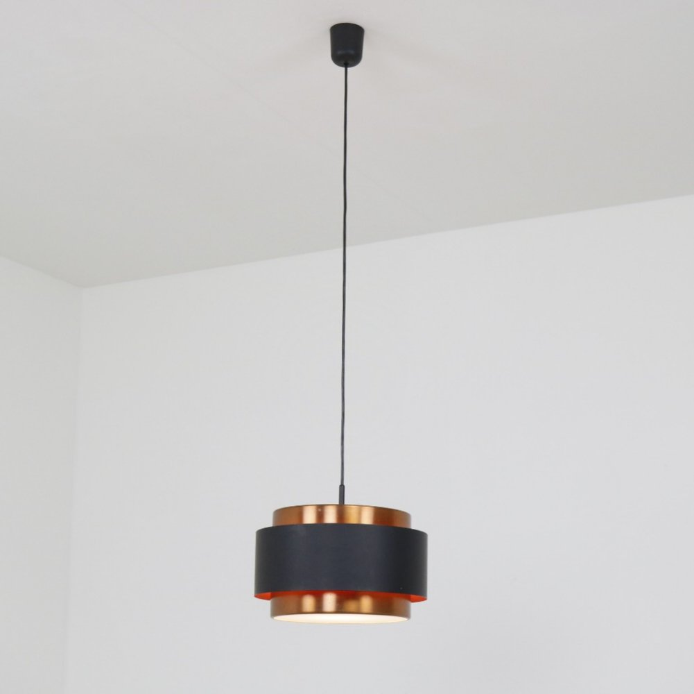 Saturn hanging lamp by Jo Hammerborg for Fog & Mørup, 1960s