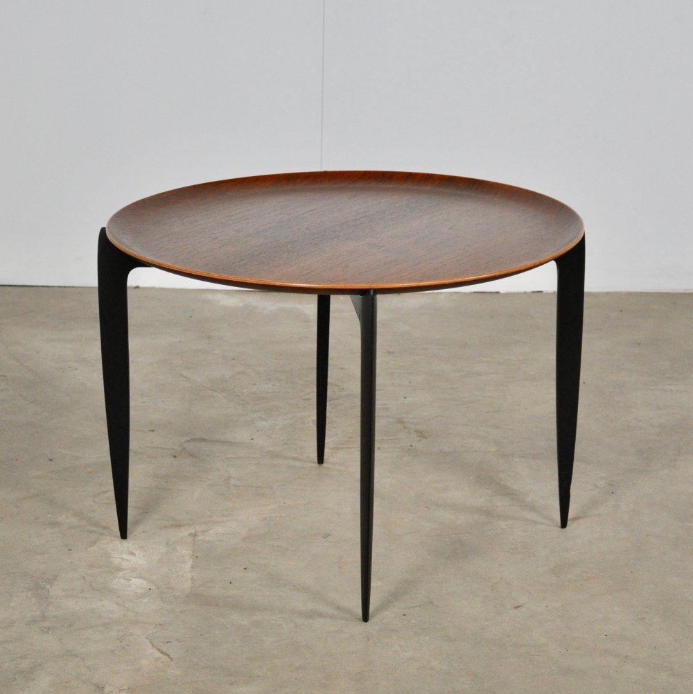 Tray Table by Svend Åge Willumsen & Hans Engholm for Fritz Hansen, 1950s