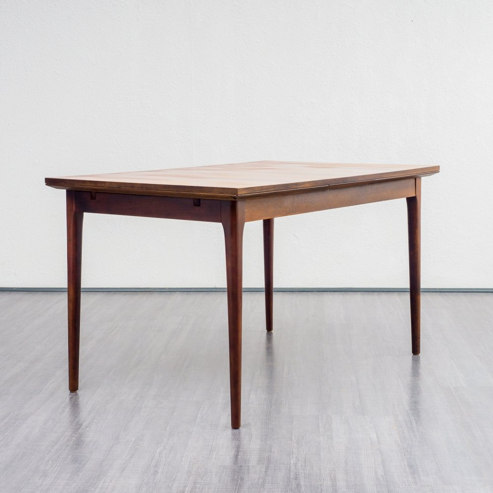Midcentury rosewood dining table, 1960s