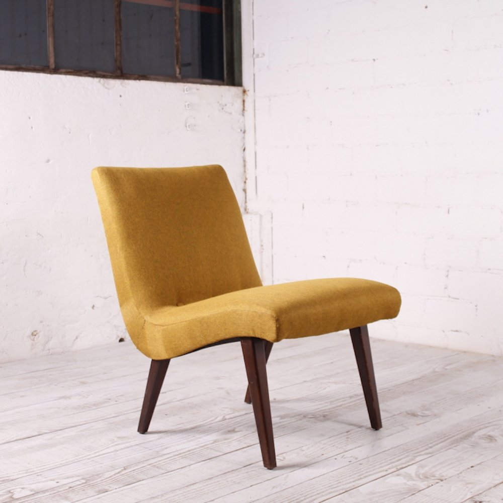 Vintage Cocktail Chair by Jens Risom for Vostra, 1950s