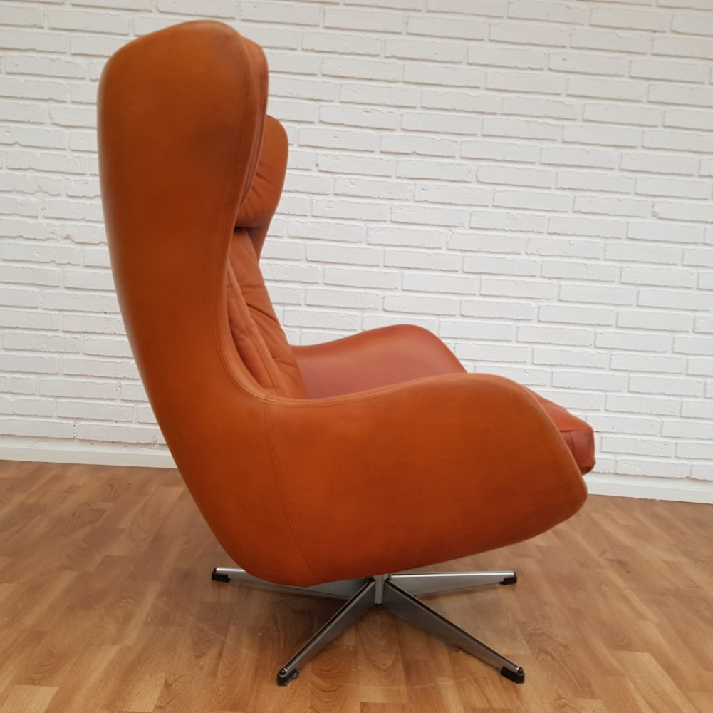Danish lounge chair by Henry Walter Klein for Bramin, 70s