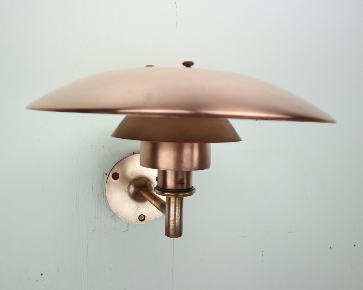 Copper Exterior Wall Light