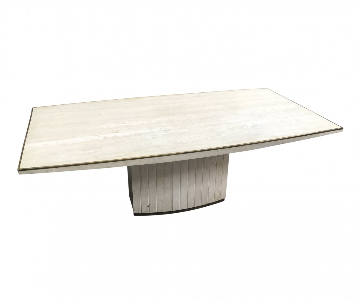 Willy Rizzo dining table, 1970s