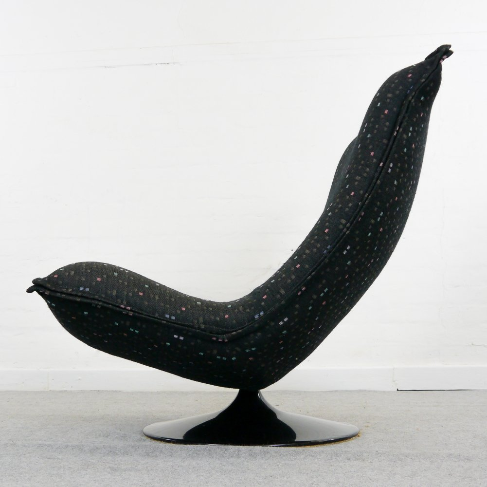 Rotatable Lounge Chair 984 by Geoffrey Harcourt for Artifort, 1970