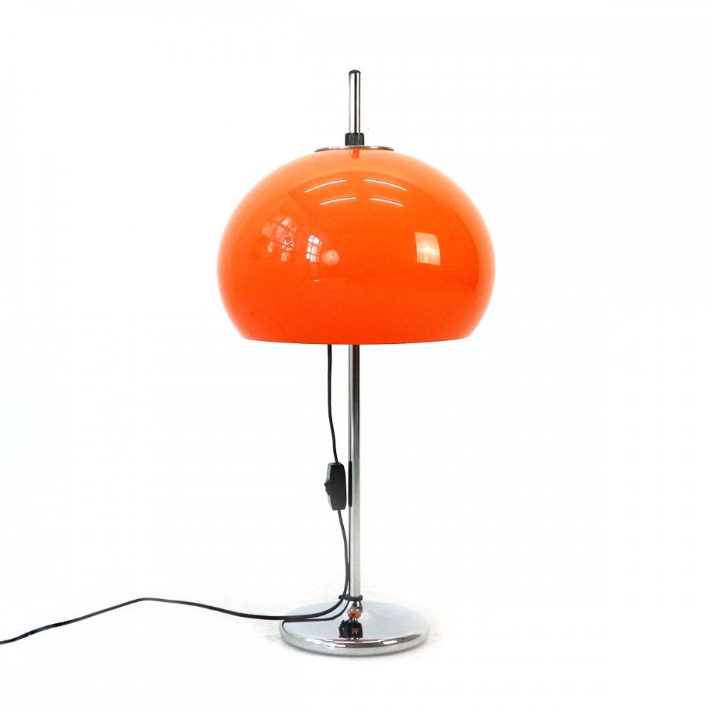 Height-adjustable Space Age Table Lamp, 1970s