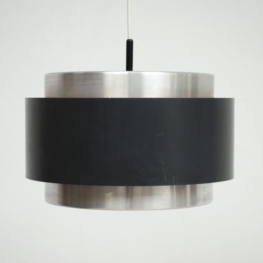 Jo Hammerborg lamp for Fog & Mørup with orange detail