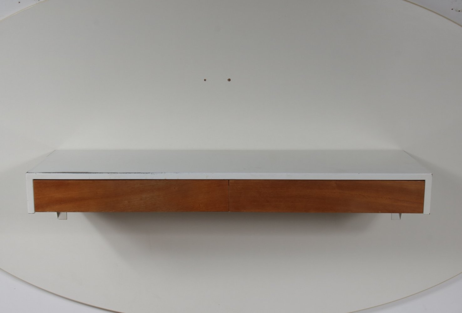 Metal wall console by Martin Visser for Spectrum, The Netherlands 1950s