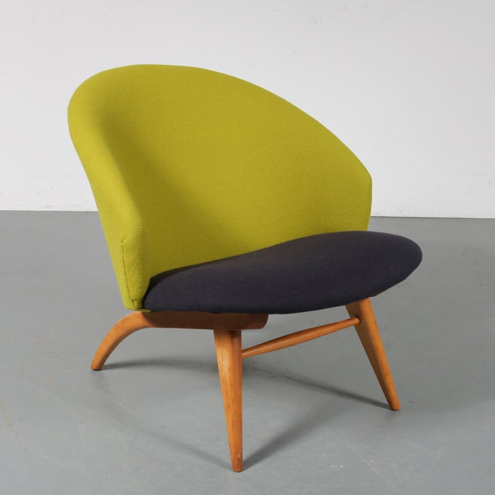 Dutch lounge chair by Theo Ruth for Artifort, the Netherlands 1950s
