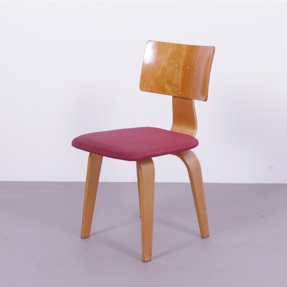 Plywood chair by Cees Braakman for Pastoe, 1954