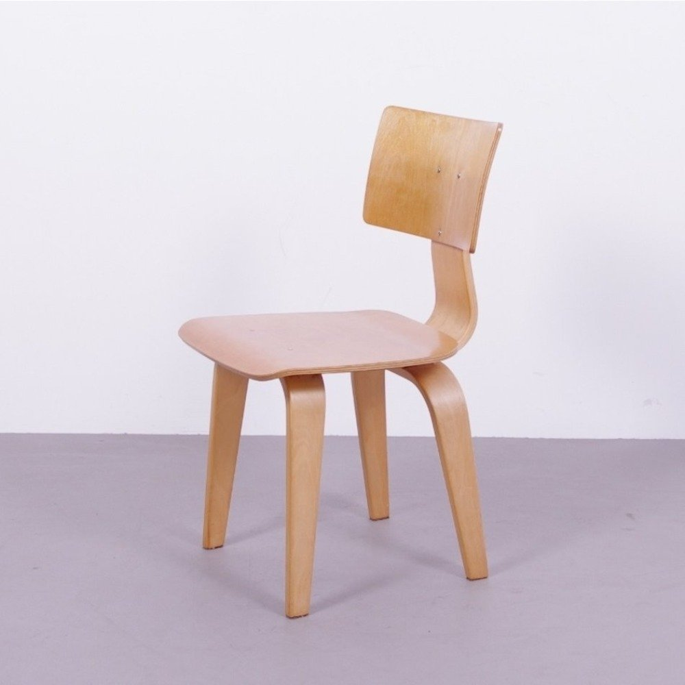 Cees Braakman for Pastoe Plywood chair, 1950s