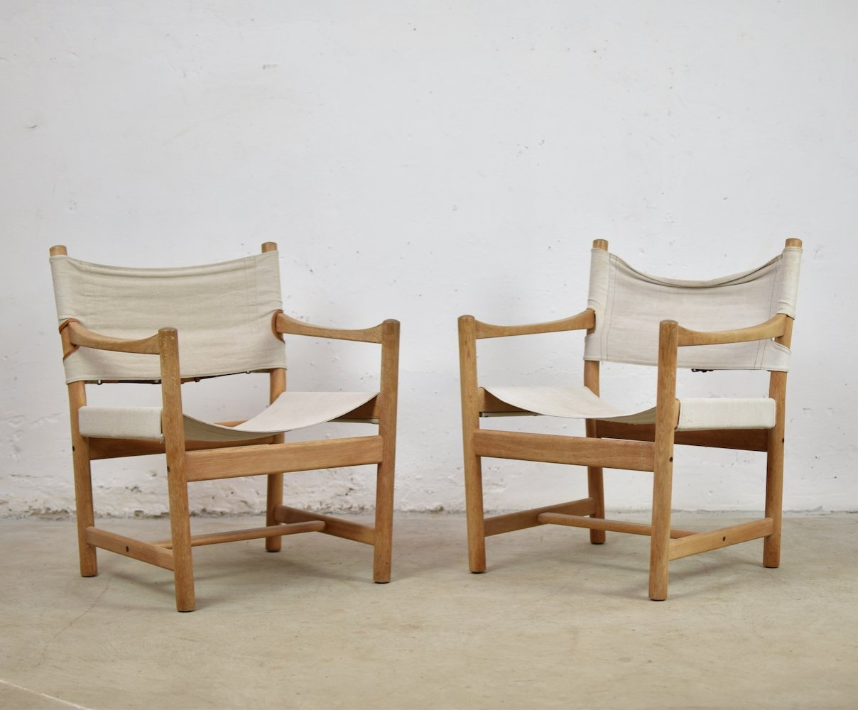 Set of 2 easy chairs by Ditte & Adrian Heath for FDB Møbler, Denmark 1960
