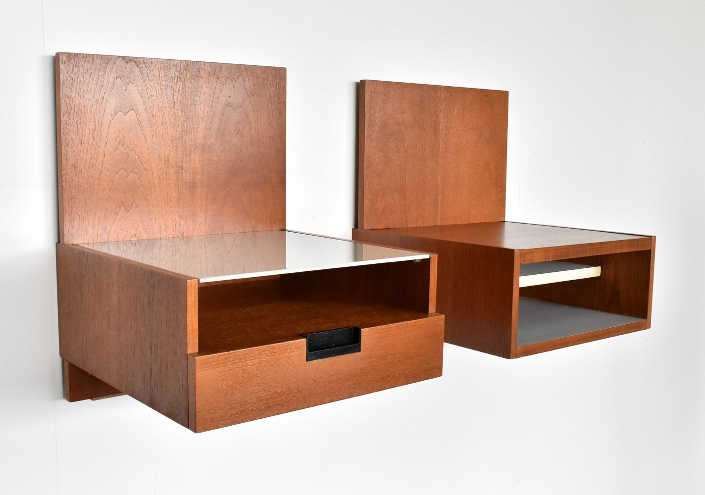 Japanese series bedside tables by Cees Braakman for Pastoe, 1960s