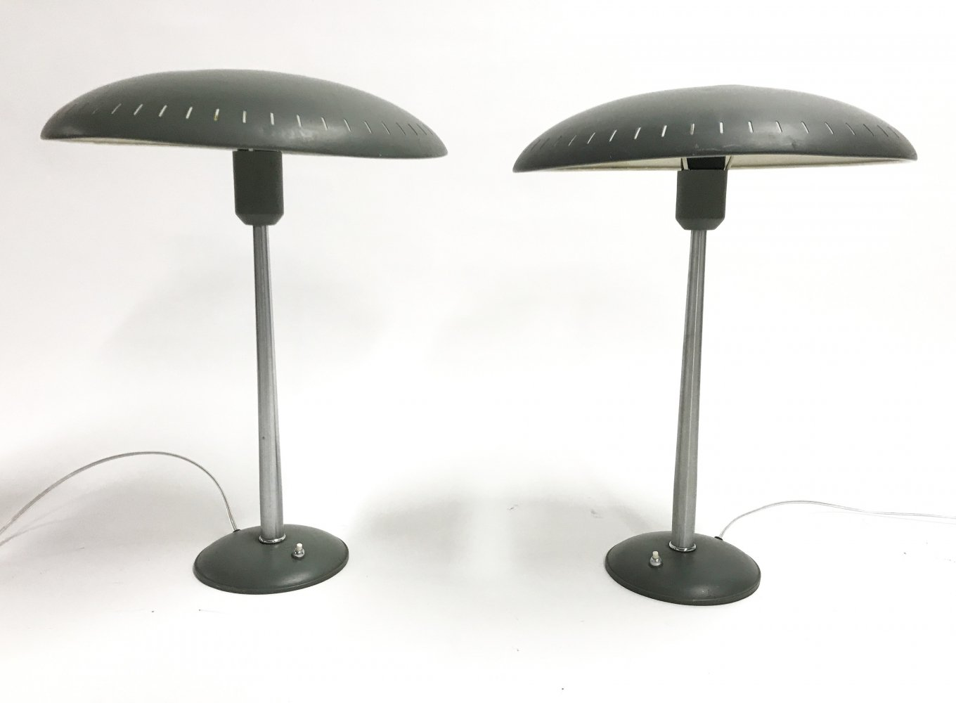 Pair of desk lamps by Louis Kalff for Philips, 1950s