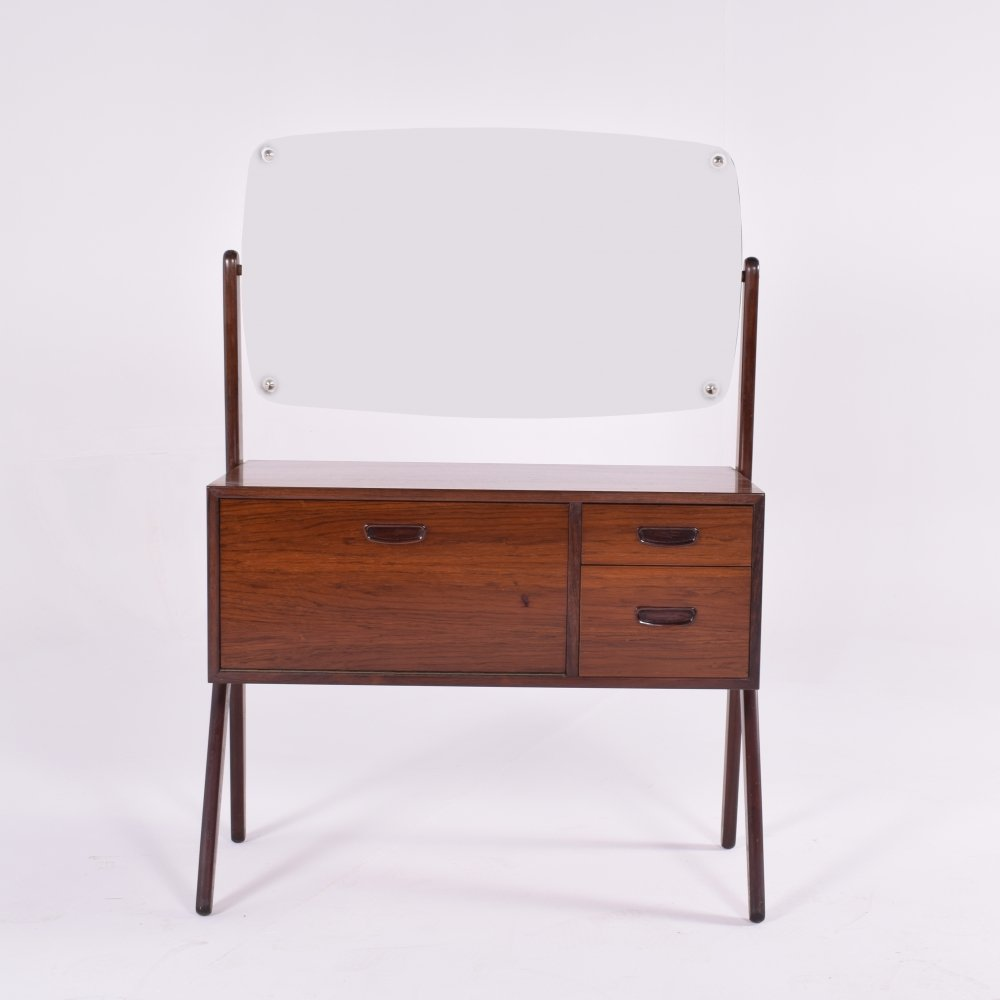 Mid Century Danish Rosewood Dressing Table