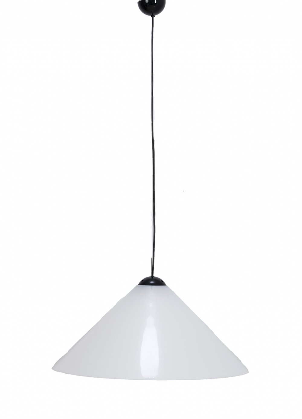 Snow hanging lamp by Vico Magistretti for Oluce, 1970s