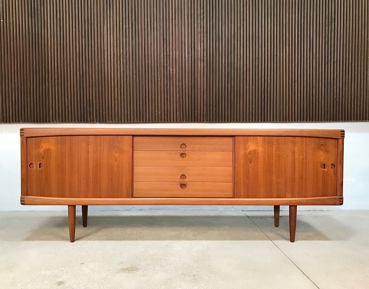 Large Danish Teakwood Sideboard by H.W. Klein for Bramin, 1960s