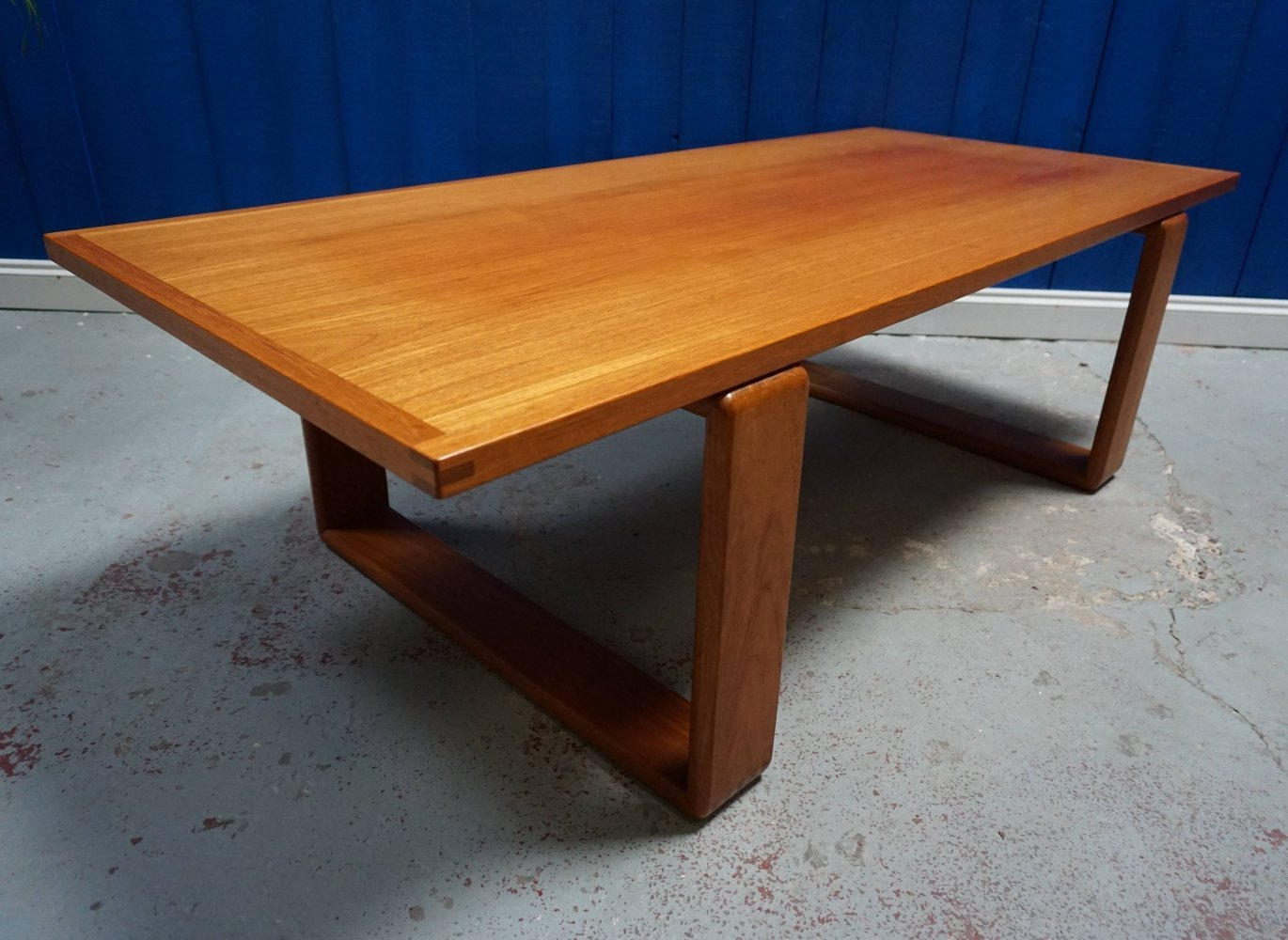 Mid Century Modern Danish Teak Table, 1960