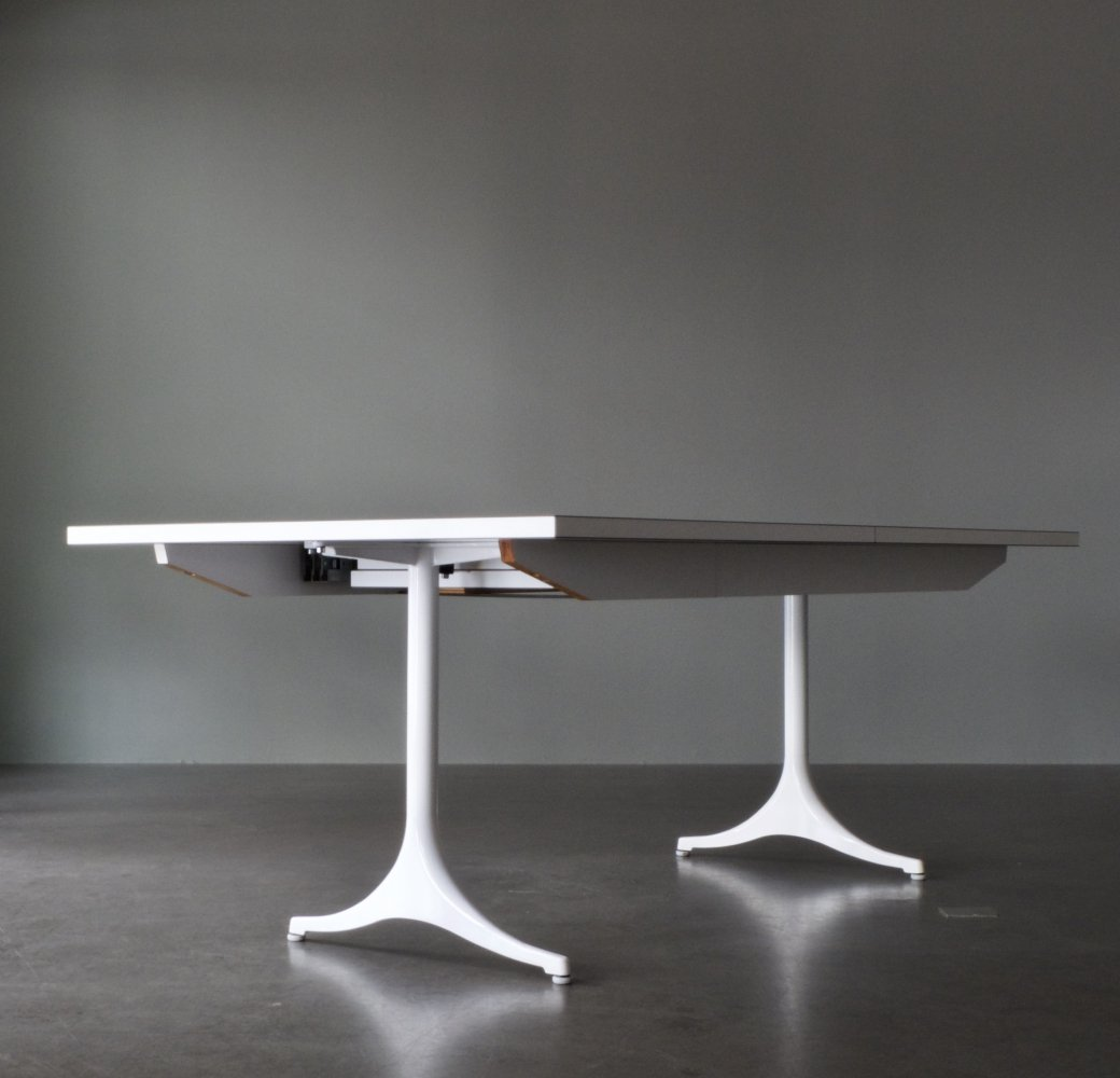 Pedestal Extension Table No. 5559 by George Nelson for Herman Miller, 1950s
