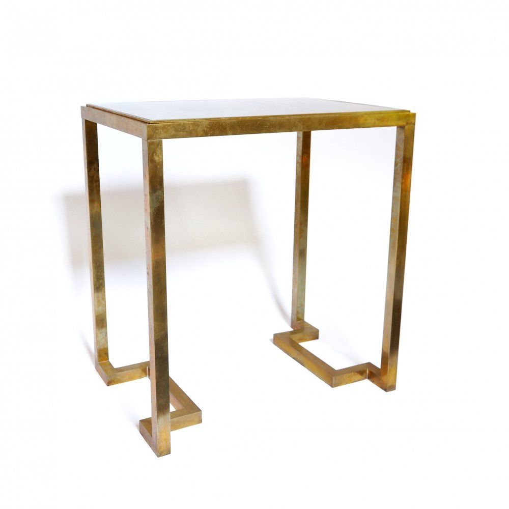 Romeo Rega Console Table, Italy 1970s