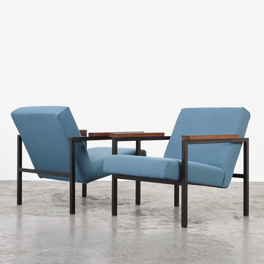 Hein Stolle Pair of SZ30/SZ60 Easy Chairs for