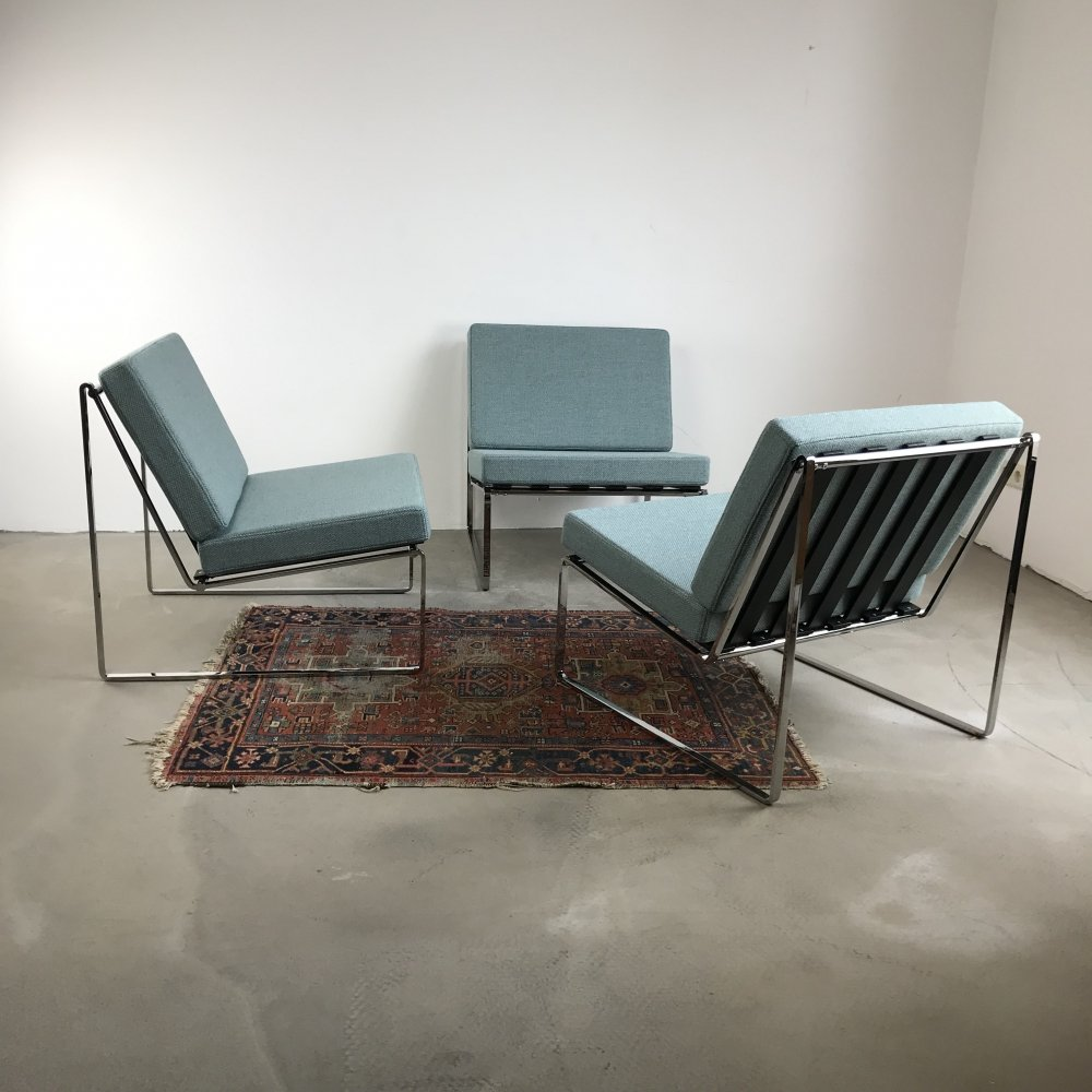 3 Model 024 Lounge Chairs by Kho Liang Ie for Artifort, 1962