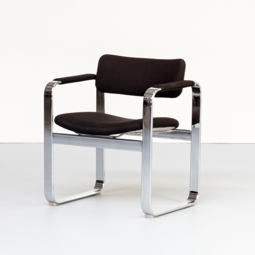 60s Eero Arnio executive arm chair for Mobel Italia