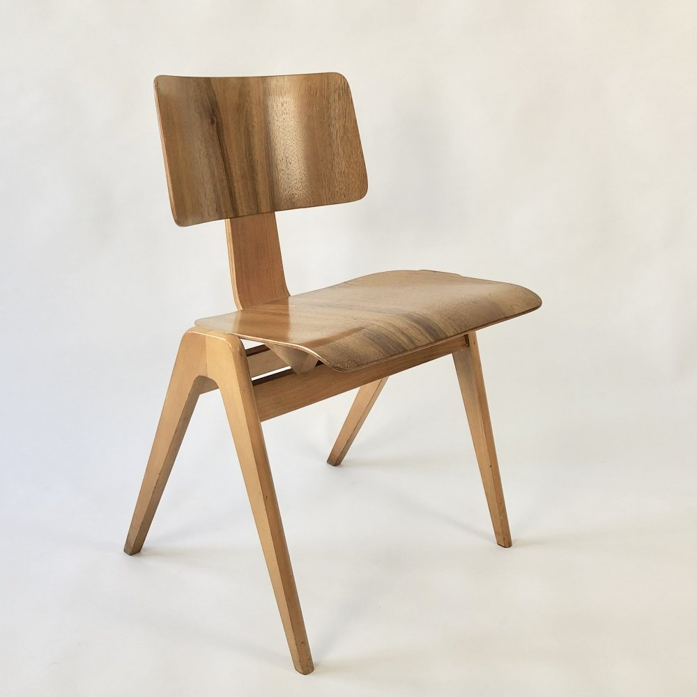 2 x Hillestak dining chair by Robin Day for Hille, 1950s