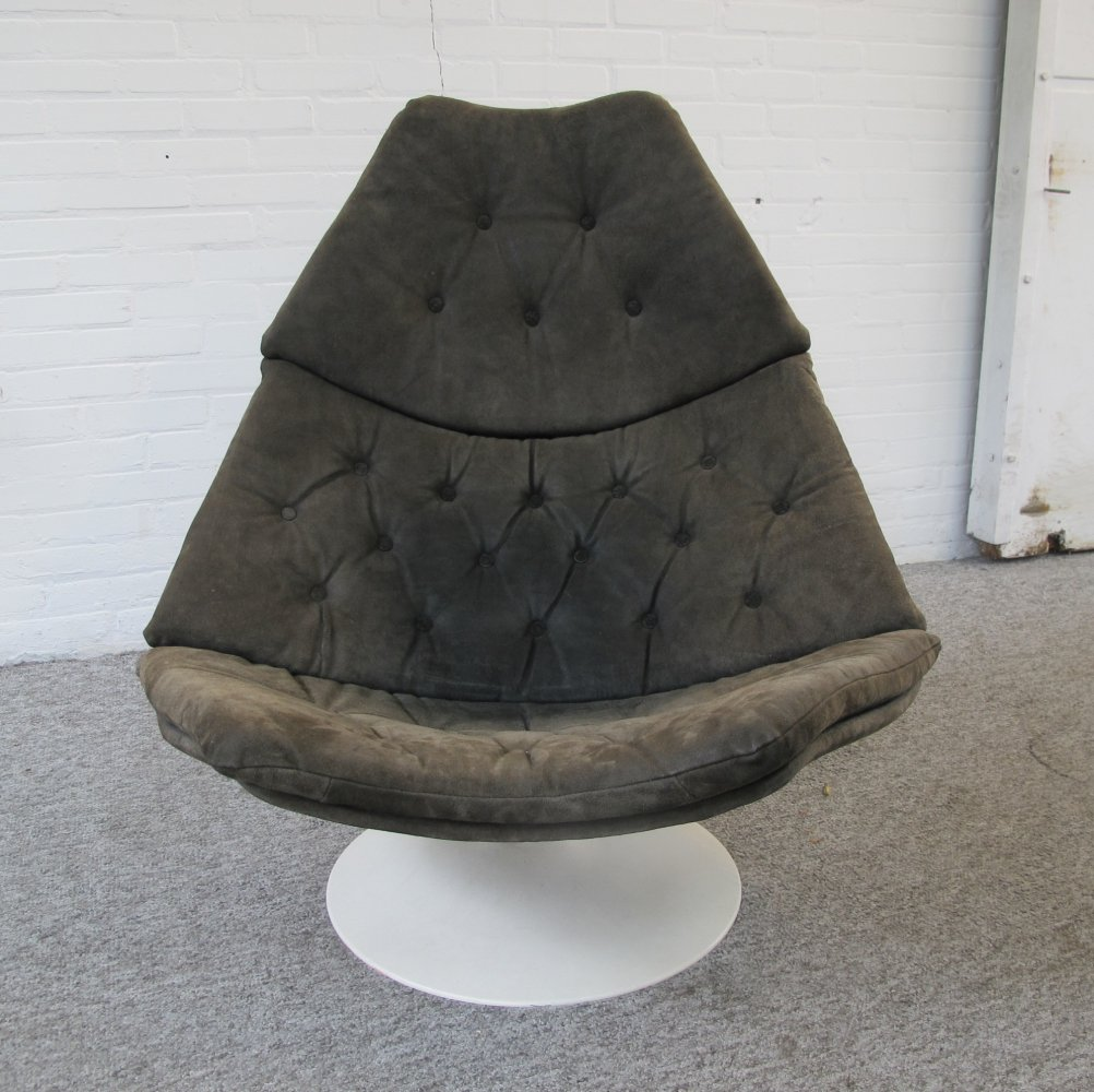 Lounge Swivel Chair F588 by Geoffrey Harcourt for Artifort, 1960s