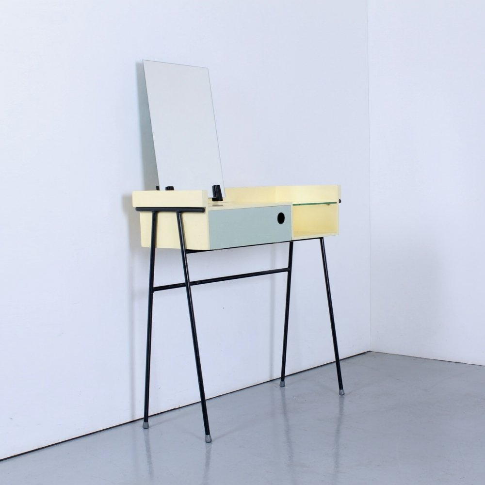 Pastel colored dressing table by Rob Parry for DiCo