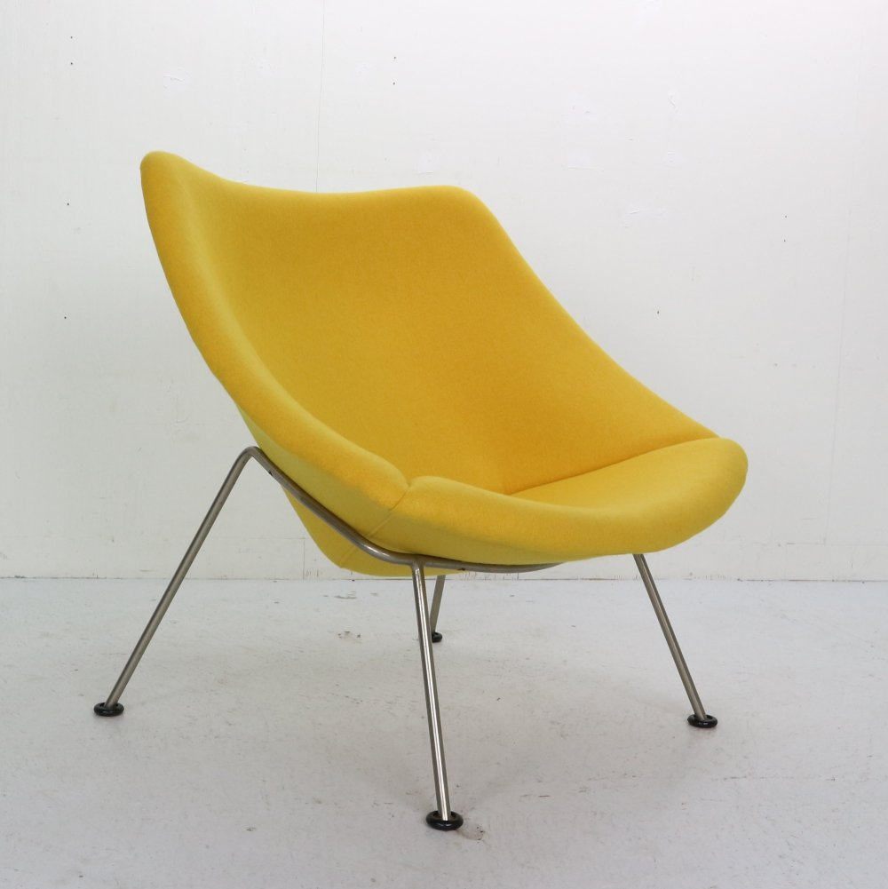 F157 Oyster Lounge Chair by Pierre Paulin for Artifort, 1960s