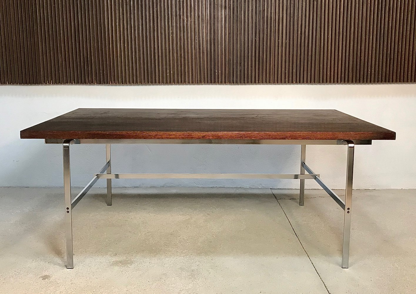 FK 196 Writing Desk by Preben Fabricius & Jørgen Kastholm for Alfred Kill, 1960s