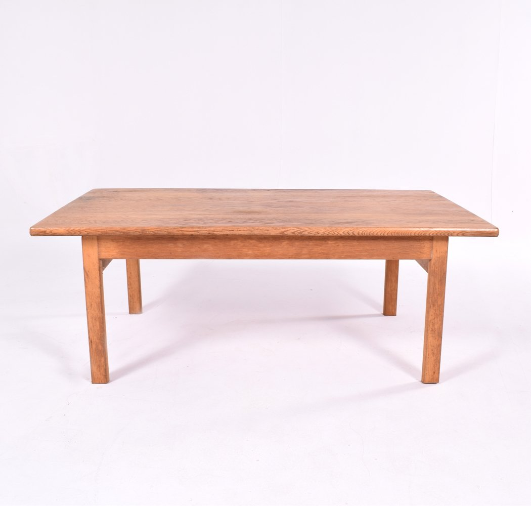Midcentury Oak Hans Wegner Coffee Table for Getama