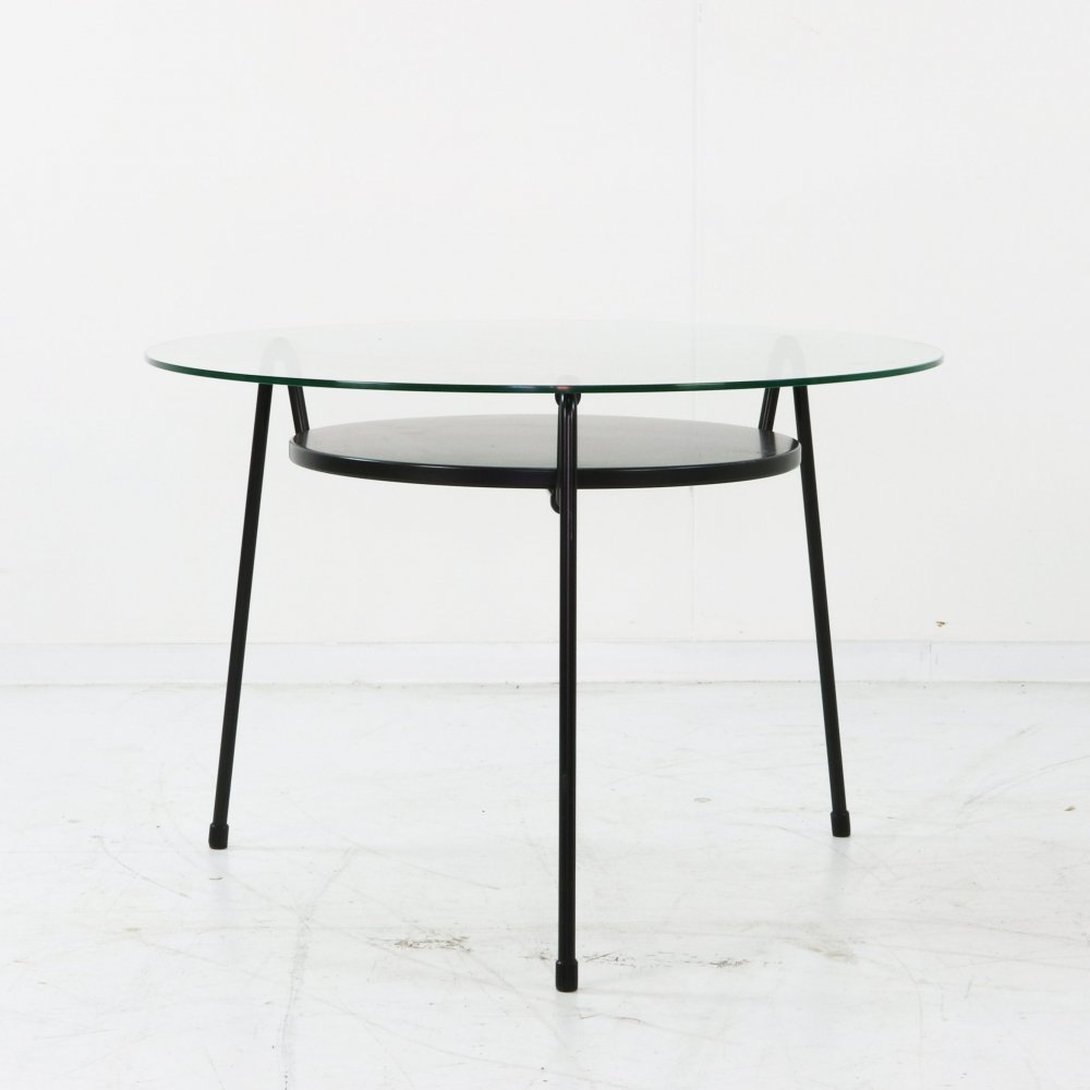 Mug / 535 coffee table by Wim Rietveld for Gispen, 1950s