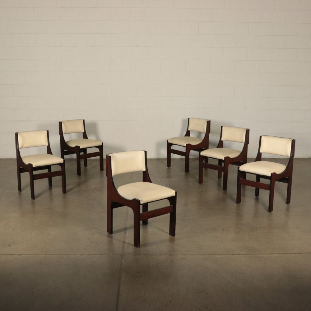 Set of 6 Vintage Chairs, 1960s
