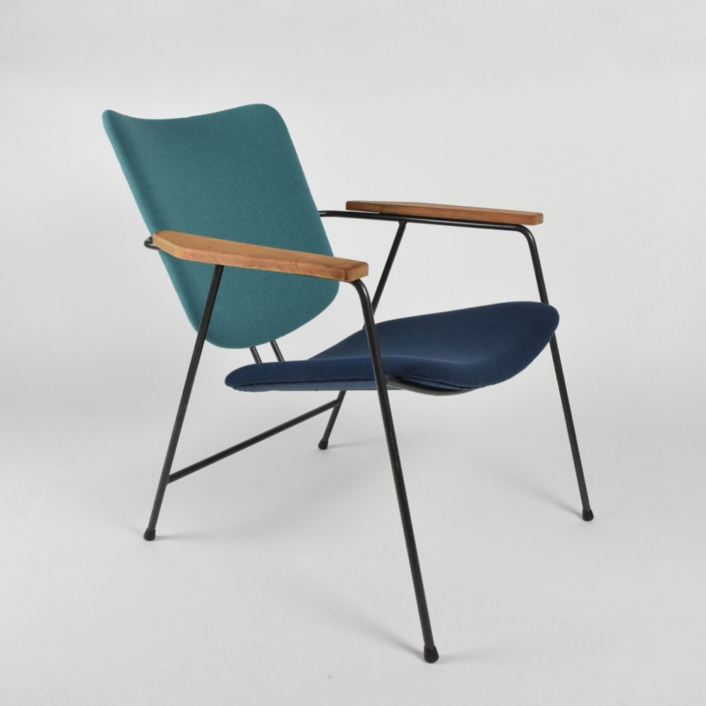 Very rare Documented Kembo lounge chair designed by W. Gispen