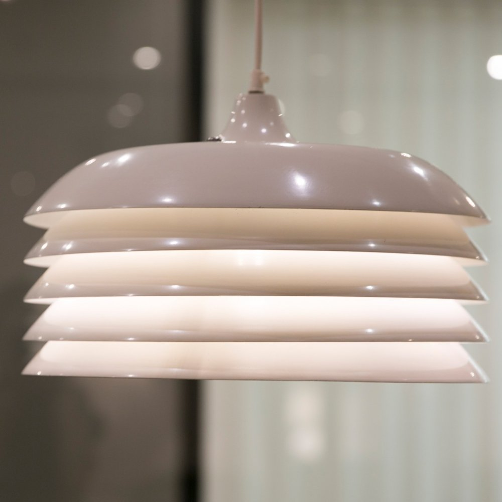 White T 742 Pendant Light by Hans-Agne Jakobsson, 1960s